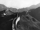 Great Wall of China, Ca. 1930's Photographic Print by  Süddeutsche Zeitung Photo