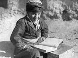 Kurdish School Boy in Iran, 1929 Photographic Print by Scherl Süddeutsche Zeitung Photo
