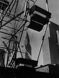 View of the Chrysler Building and the Building of the Daily News Photographic Print by Scherl Süddeutsche Zeitung Photo