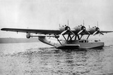 Flying Boat Dornier Do 24 Near Friedrichshafen, 1937 Photographic Print by Knorr Hirth Süddeutsche Zeitung Photo