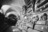 The Capuchin Catacombs of Palermo (Le Catacombe Dei Capuccini) Photographic Print by Knorr Hirth Süddeutsche Zeitung Photo