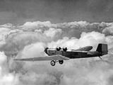 Scherl Süddeutsche Zeitung Photo - A Klemm L25A in Flight, 1930 Fotografická reprodukce