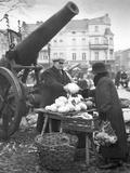 Marketplace in Pila, 1936 Photographic Print by  Süddeutsche Zeitung Photo