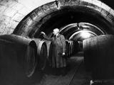 Wine Taster in Saumur in France, 1937 Photographic Print by  Süddeutsche Zeitung Photo