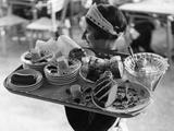 Viennese Waitress Photographic Print by Knorr Hirth Süddeutsche Zeitung Photo