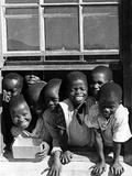 Zulu-Children in South Africa, 1938 Fotografisk tryk af  Süddeutsche Zeitung Photo