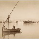 Suez Harbor, 1895 Photographic Print by Scherl Süddeutsche Zeitung Photo