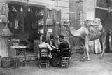 Players in the Streets of Kairo, 1909 Photographic Print by Scherl Süddeutsche Zeitung Photo
