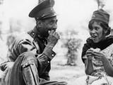 Mexican Soldier with Woman, 1936 Photographic Print by Knorr Hirth Süddeutsche Zeitung Photo
