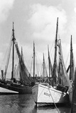 Fishing Boats in Koenigsberg Photographic Print by  Süddeutsche Zeitung Photo