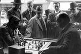 Chess Players in Cafe Stephanie in Munich, 1931 Photographic Print by Knorr Hirth Süddeutsche Zeitung Photo