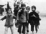 Children in China, 1921 Impressão fotográfica por  Süddeutsche Zeitung Photo