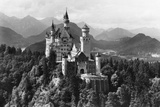 Neuschwanstein Castle before 1945 Photographic Print by  Süddeutsche Zeitung Photo