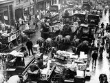 Billingsgate Fish Market in London, 1936 Photographic Print by  Süddeutsche Zeitung Photo