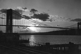 George Washington Bridge, New York City, 1933 Photographic Print by Scherl Süddeutsche Zeitung Photo