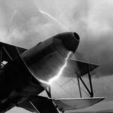 Doubledecker on the Airfield of Berlin-Adlershof, 1940 Reprodukcja zdjęcia autor Scherl Süddeutsche Zeitung Photo