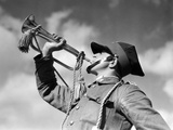 Trumpeter of the Polish Cavalry before 1939 Photographic Print by  Süddeutsche Zeitung Photo