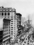 The Fifth Avenue in New York, 1914 Photographic Print by Scherl Süddeutsche Zeitung Photo