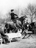 Rider Jumps over a Table, 1907 Photographic Print by  Süddeutsche Zeitung Photo