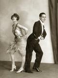 Dancers Perform the Black Bottom, 1926 Photographic Print by Scherl Süddeutsche Zeitung Photo