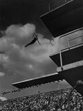 Richard Degener at the Olympic Games in Berlin, 1936 Metal Print by Scherl Süddeutsche Zeitung Photo