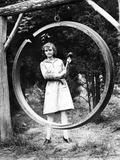 Dinner Bell in a Girls Summer Camp, 1931 Kunstdrucke von Scherl Süddeutsche Zeitung Photo