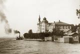 View of Lake Starnberg Photographic Print by Scherl Süddeutsche Zeitung Photo