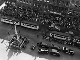 Marienplatz in Munich, 1935 Photographic Print by Knorr Hirth Süddeutsche Zeitung Photo