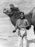 Camel Leader in China, 1927 Impressão fotográfica por  Süddeutsche Zeitung Photo