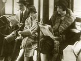 Smoking Women, 1925 Photographic Print by Scherl Süddeutsche Zeitung Photo