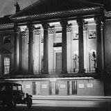 The Staatsoper Unter Den Linden in Berlin at Night, 1933 Photographic Print by Scherl Süddeutsche Zeitung Photo
