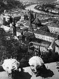 Panoramic Image of Salzburg, 1921 Photographic Print by Scherl Süddeutsche Zeitung Photo