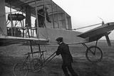 International Flight Week in Berlin on the Johannisthal Airfield, 1909 Photographic Print by Scherl Süddeutsche Zeitung Photo
