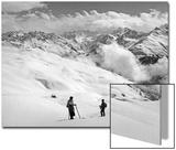 Skier Near Arosa Plakater av  Süddeutsche Zeitung Photo