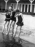 1920's Swimwear Poster by Scherl Süddeutsche Zeitung Photo