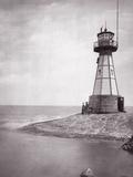 The Lighthouse of Neufahrwasser, 1900 Photographic Print by Scherl Süddeutsche Zeitung Photo