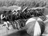 Beauty Competition in Beijing, 1926 Impressão fotográfica por  Süddeutsche Zeitung Photo