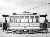 Electric Tram in Munich, Ca. 1895 Photographic Print by  Süddeutsche Zeitung Photo