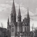 Kaiser Wilhelm Memorial Church in Berlin Photographic Print by Scherl Süddeutsche Zeitung Photo