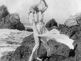 Young Woman at the Beach, Ca. 1925 Poster von Scherl Süddeutsche Zeitung Photo