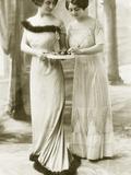 Ladies' Fashion from 1911 Metal Print by Scherl Süddeutsche Zeitung Photo