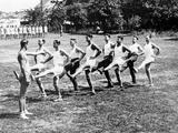 Police Sports Club in America, 1932 Photographic Print by Scherl Süddeutsche Zeitung Photo