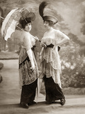 Women's Fashion in 1913 Photographic Print by Scherl Süddeutsche Zeitung Photo