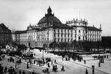 Historic Munich: Justizpalast around in Munich Photographic Print by Scherl Süddeutsche Zeitung Photo