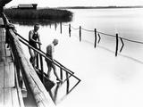 Bathing at Schlier Lake, 1924 Photographic Print by Scherl Süddeutsche Zeitung Photo