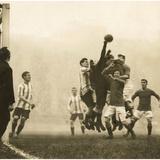 Soccer, 1914 Photographic Print by Scherl Süddeutsche Zeitung Photo