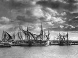 Fishing Port in Sassnitz on the Isle of Ruegen, 1938 Photographic Print by  Süddeutsche Zeitung Photo