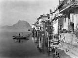 Gandria at the Lake Lugano Photographic Print by Scherl Süddeutsche Zeitung Photo