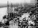 Harbour of Boston, 1931 Reprodukcja zdjęcia autor Süddeutsche Zeitung Photo