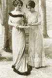 Ladies' Fashion from 1911 Photographic Print by Scherl Süddeutsche Zeitung Photo